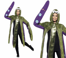 Octopus Costume Fancy Dress Outfit Sealife Animal Adults Outfit One Size