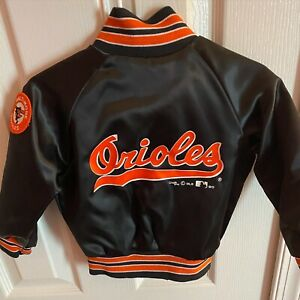Vintage 90's Orioles Chalk Line 2T kids jacket MINT! patch LOOK NWOT Size 2