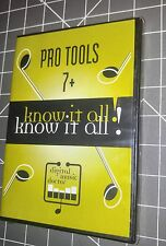 BRAND New pro tools 7+ Digital Music Doctor Know It All! Dvd version 1.1 2008