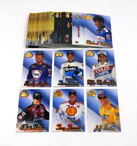 1998 Press Pass Premium NASCAR Racing Card Set (54)