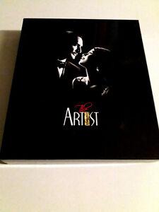 "DVD ""THE ARTIST"" COFFRET PRESTIGE BOX SET 2DVD + BLU-RAY +CD OST +LIBRO +CARTEL"