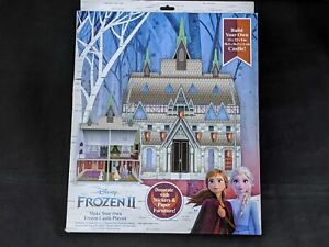 Frozen II Make Your Own Frozen Castle Playset Stickers Paper Furniture New 1177