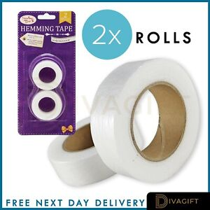 SEWING TAPE WONDER WEB IRON ON HEMMING REPAIR TAPES WEBBING ROLLS