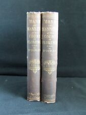 """Dr.Doran """"Mann"""" & Manners at the Court of Florence 1740-1786, London 1876 Ist ed"""