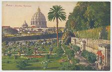 AK ROM giardino contemporaneo Vaticano (k759)