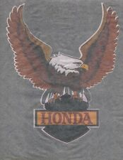 HONDA EAGLE vintage 70s iron on t shirt transfer NOS full size