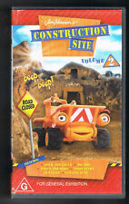 ~CONSTRUCTION SITE Volume 2 video/VHS 5 episodes henson