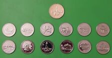 1992 Canada Complete Set of 12 Provincial Quarters Plus Parliament Dollar