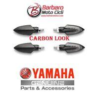 2 COPPIE FRECCE LED CARBON ORIGINALI YAMAHA MT125 MT-03 MT-07 MT-09 TRACER MT10