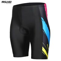 Men's Padded Cycling Shorts Mountain Bike Bicycle Shorts MTB Road Trousers