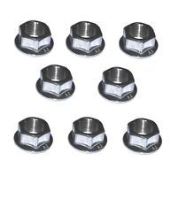 Kawasaki ZZR600 Exhaust Fixing M8 Flange Nuts (x8)