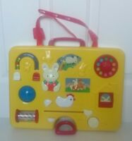 RARE Vintage EARLY LEARNING CENTRE ELC Cot Baby Toy Activity Centre + Cot Straps