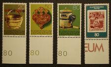 Liechtenstein 1980:Lot Freimarken mit Bogenrand, postfrisch/MNH/**