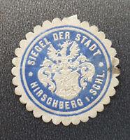 Siegelmarke Vignette Siegel Der Stadt Hirschberg I. Schl. (8047-2)
