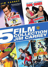 5 Film Collection: Jim Carrey DVD 5 Disc)Ace Ventura Yes Man Mask Dumb & Dumber