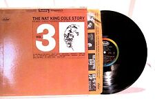 The Nat King Cole Story Vol 3 Capitol Records LP 33 SW 1928