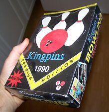 NEW Vintage 1990 KINGPINS PREMIER EDITION BOWLING COLLECTORS TRADING CARDS SET