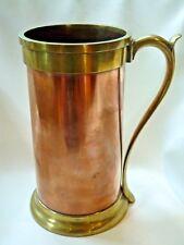 Magnificent American 1 Gallon Ohio Standard Measure in Copper and Brass, ca.1847