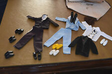 Lot Ken And Barbie Shoes-Boots-Outfits-Acces sories-22 Pcs.-10 Matching Pairs