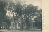NEW HAVEN CT - Trinity Church Rotograph Postcard - udb (pre 1908)