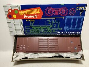 Roundhouse  50' Double Door Boxcar   *KIT*   Union Pacific/WP  #38083   HO Scale