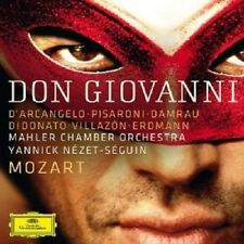 D'ARCANGELO/DAMRAU/VILLAZON/ERDMANN/NEZET-SEGUIN/ - DON GIOVANNI 3 CD NEU MOZART