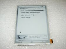 Kindle Keyboard 3 LCD Screen Replacement, ED060SC7(LF)C1, D00901 TESTED #S-04
