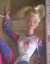 Atlanta Olympic Gymnast 1995 Barbie Doll NRFB Platinum Blonde