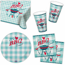 Gingham Party Tableware with Less than 10 Items