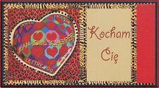 2006 FRANCE N°3861A** PERSONNALISE coeur Scherrer  LOGO Je t'aime en Polonais