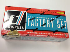 2014 Donruss Baseball Factory Set—Series 1&2—Factory Sealed w/ auto or relic