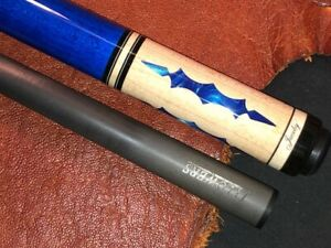 Jacoby pool cue with J. Flowers Carbon Fiber Shaft.