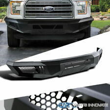 15-17 Ford F150 F-150 Truck Pickup Raptor Style Black Steel Front Bumper Guard