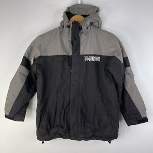 BURTON ALL ACCESS Youth Blue Gray Black Snowboard Jacket Youth X Large (14/16)