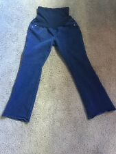 091fa63181d71 Indigo Blue MATERNITY JEANS. SZ PM petite Medium Bootcut Inseam 28