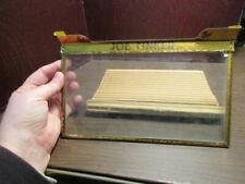 Cigar Box Glass Lid Cover Display Tin Metal Sign Advertising - 5¢ JOE TINKER