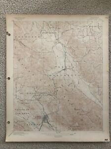 1895 USGS Topo Map San Luis Obispo Atascadero Southern Pacific Coast Railroad