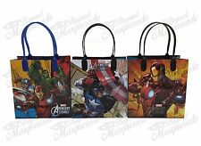 (24ct) Marvel Avengers Birthday Boy Party Favor Goodie Loot Gift Bags
