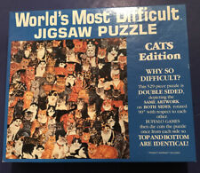 World's Most Difficult jigsaw puzzle double sided Cats Edition 529 pcs