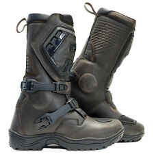 Richa Colt ADVENTURE Brown Motorcycle Boots WITH DOUBLE ADJUSTMENT ZE