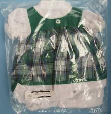 PRETTY GREEN PLAID DRESS AND PANTIES FOR BABY CRISSY DOLL MINT IN PACKAGE