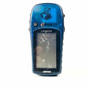 Garmin eTrex Legend Blue 4 level Gray LCD Waterproof GPS Hiking Navigator 8 MB