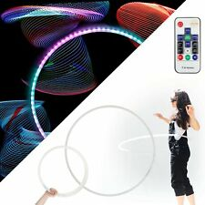 Echo Glow - Light Up Collapsible Professional Hula Hoop with 84 LED's, Fully ...