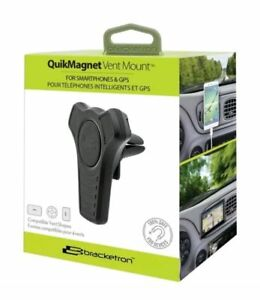 Bracketron QuikMagnet Vent Mount for SmartPhones & GPS