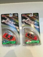 ERTL RACING CHAMPIONS 1/64 FAST AND FURIOUS HONDA NSX SERIES 6 and 1994 acura.