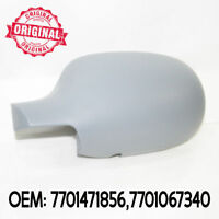 Left Side Wing Mirror Cover Cap Casing Primed Compatible With 207 2006 Onwards OEM 8152F1 9680194877 815291