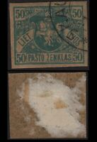 Lithuania 1919 SC 35 used imperf wmk 144 . g2151