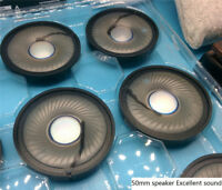 50mm Speaker Unit for DIY headset excellent sound Graphene diaphragm Clear voice