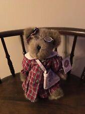 """Boyds Bear """"Aimee Warmheart"""" retired 2001 bought at Gettysburg Boyds Bear Barn"""