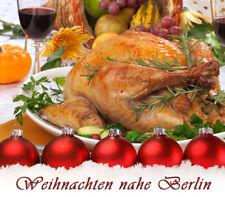 Weihnachten 2018 5 Tage Urlaub im Hotel Weißer Schwan bei Berlin Halbpension